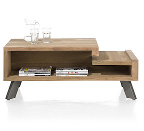 Garda, Table Basse 60 X 120 Cm + 2-niches