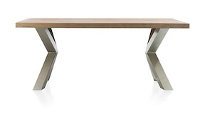 Garda, Table 190 X 100 Cm - X-pieds