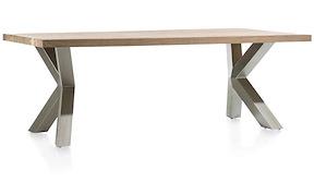 Garda, Table 220 X 100 Cm - X-pieds