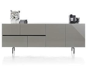 Lurano, Buffet 2-portes + 4-tiroirs - 230 Cm