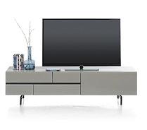 Lurano, Meuble Tv 1-tiroir + 1-porte Rabattante - 170 Cm
