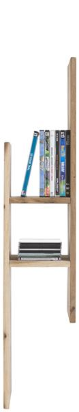 Cenon, Etagere Mural 99 Cm + 3-niches - Bois