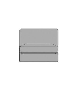 Rubi, Grand Element - 90 Cm - Sans Accoudoirs