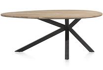 Colombo, Table 200 X 120 Cm - Chene Massif + Mdf