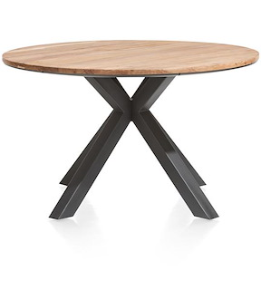 Colombo, Table Rond 130 Cm - Kikar Massif