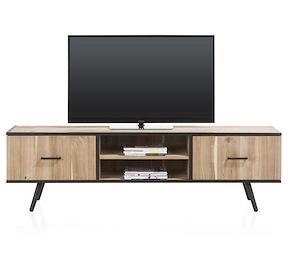Kinna, Meuble Tv 1-porte + 1-tiroir + 2-niches - 190 Cm