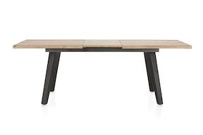 Kinna, Table A Rallonge 180 (+ 50) X 100 Cm - Toutes En Bois