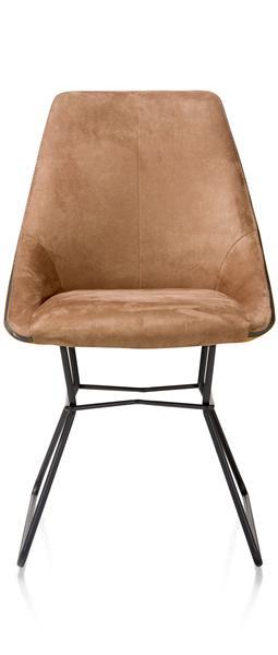 Aiden, Chaise - Pieds Poudres Noir - Combinaison Calabria/tatra