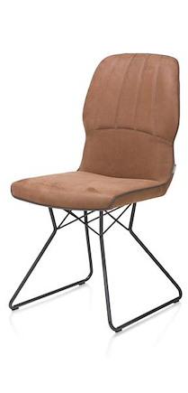 Lance, Chaise - Pied Noir - Tissu Kibo