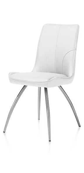 Jessy, Chaise - 4-pieds Inox Courbes - Catania