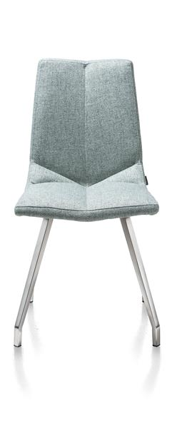 Artella, Dining Chair 4 Legs Stainless Steel - Lady Grey Or Mint