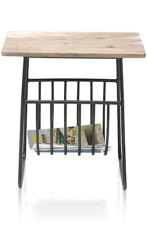 Table D'appoint Surat + Etagere De Magazine