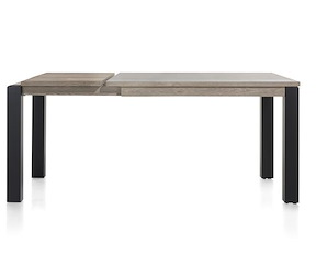 Vino, Table A Allonge 140 (+ 50) X 90 Cm