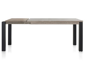 Vino, Table A Allonge 160 (+ 50) X 90 Cm