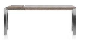 Vino, Table Bar A Rallonge 160 (+ 50) X 90 Cm (hauteur: 92 Cm)