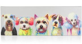 Peinture Puppy Bastards - 50 X 140 Cm