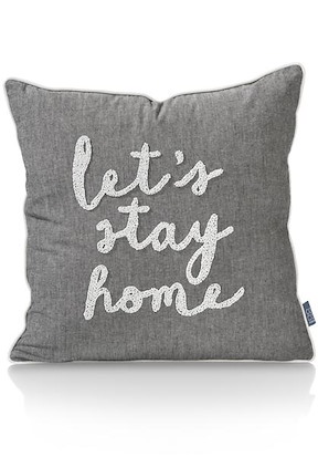 Coussin Stay Home - 45 X 45 Cm