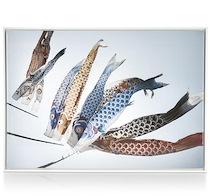 Peinture Fish Kyte - 74 X 104 Cm
