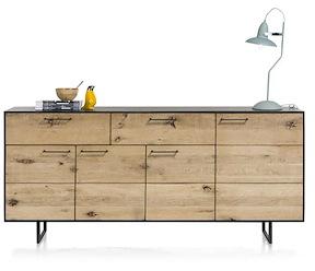 Barcini, Sideboard 4-doors + 2-drawers - 190 Cm