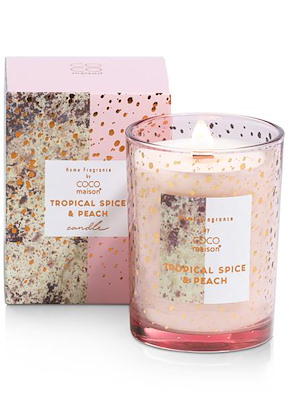 Bougie D'odeur Tropical Spice & Peach