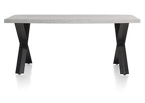 Maddox, Table 190 X 100 Cm - Beton - Pied Forme X