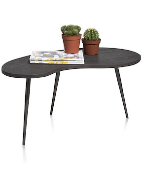 Ogies, Table D'appoint 85 X 80 Cm - Forme Rein
